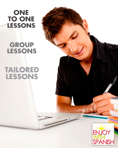 Spanish lessons online - one to one via skype or hangouts